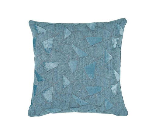 Picture of TEAL GEO THROW PILLOW