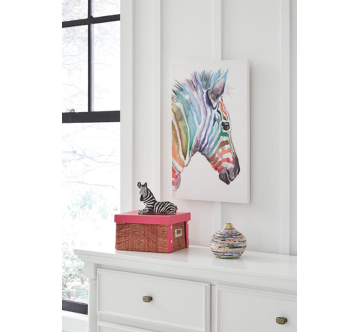 Picture of ZEBRA WALL ART