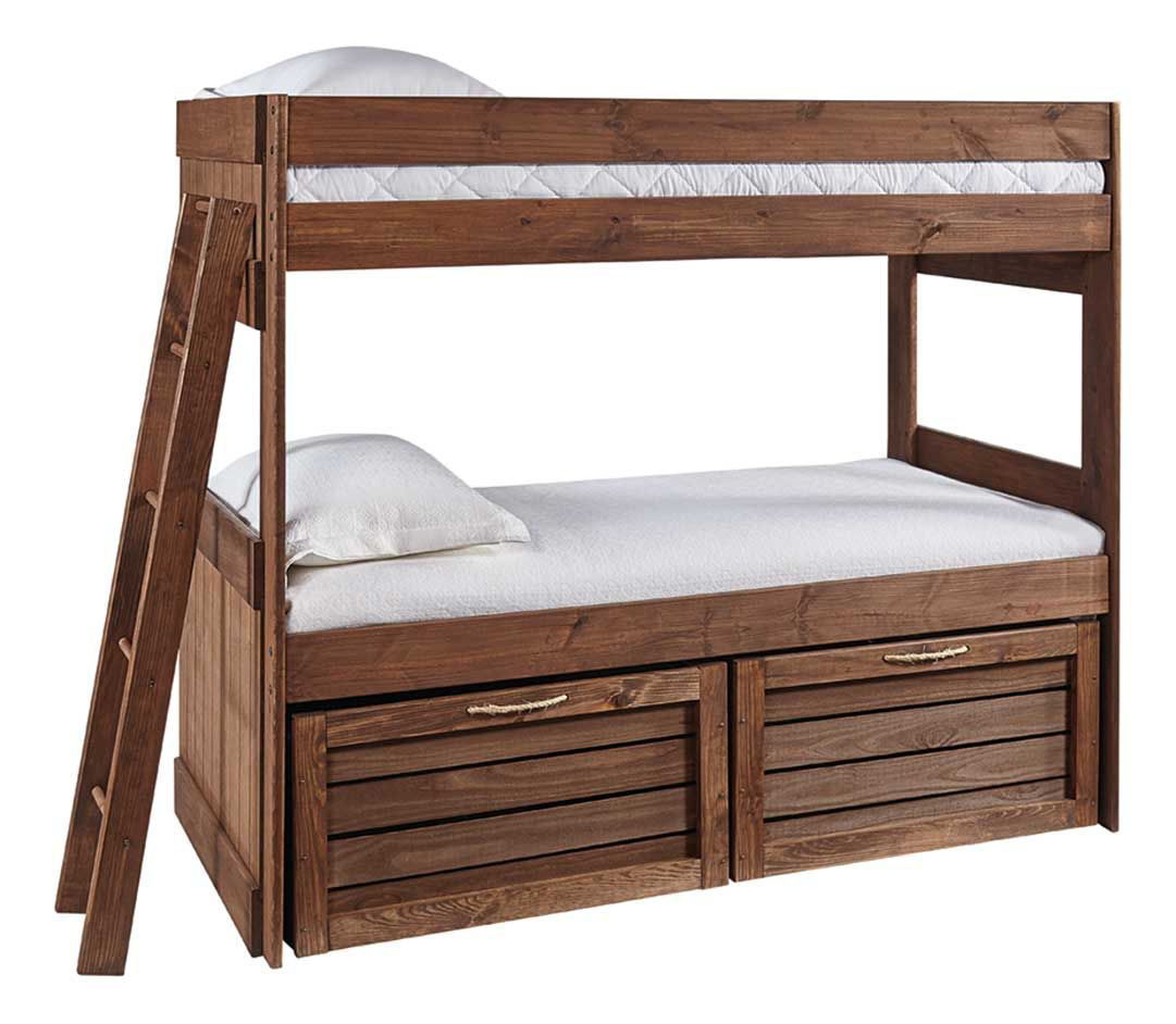 Picture of BAYLEE TWIN OVER TWIN STORAGE BUNK BED