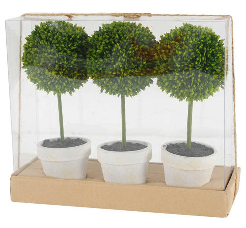 Picture of TOPIARY GIFT BOX OF 3