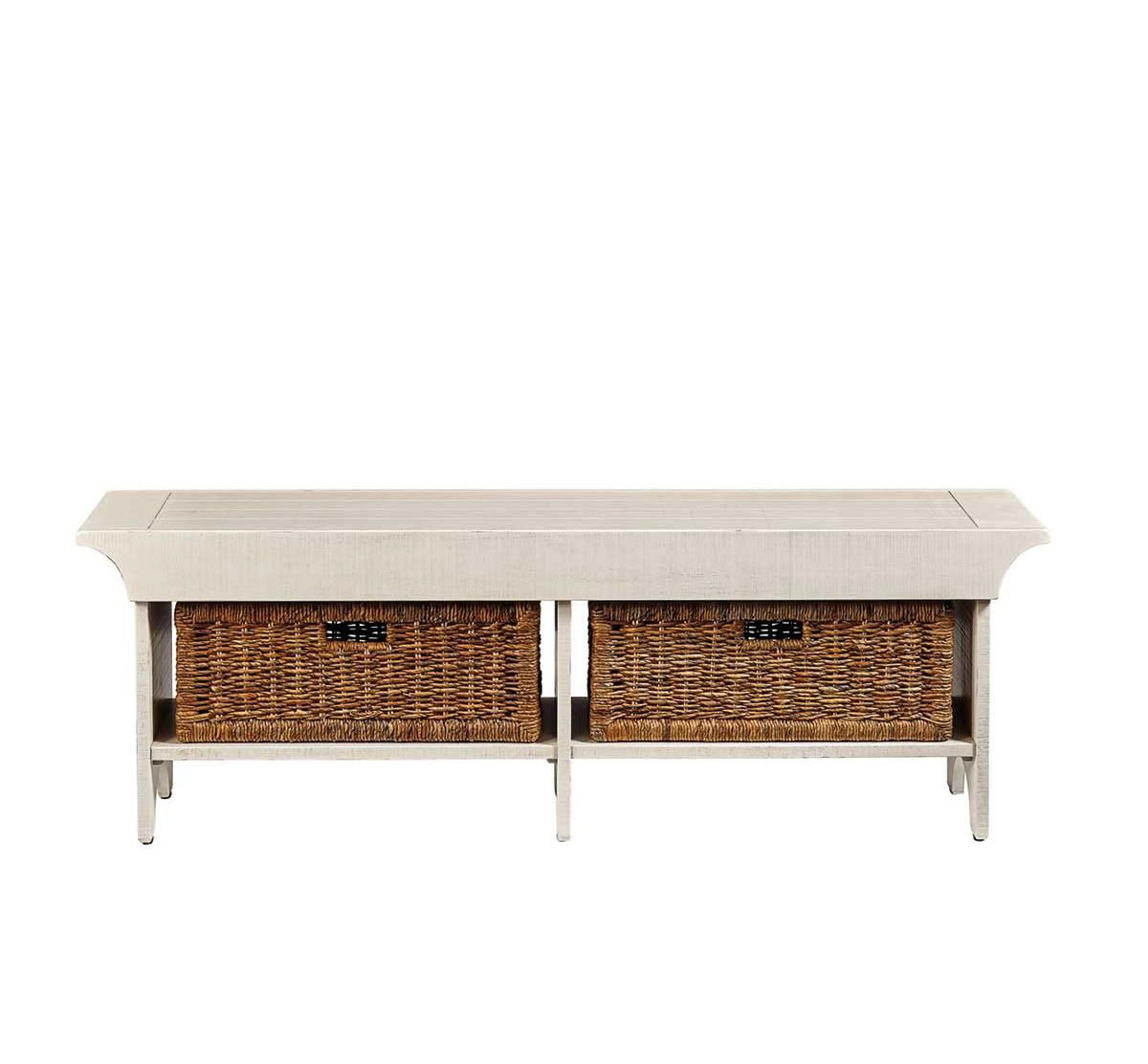 Picture of WHITE BENCH