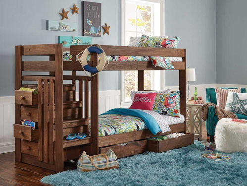 Picture of BAYLEE TWIN OVER TWIN STAIRBED