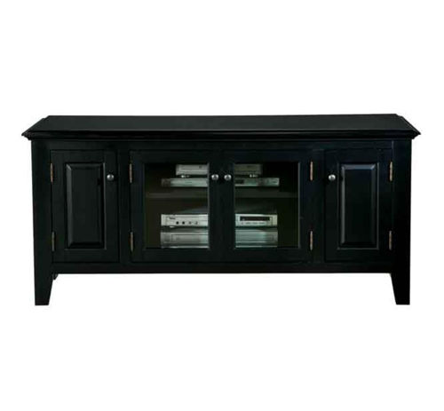 "Picture of PEMBROKE BLACK 55"" TV CONSOLE"