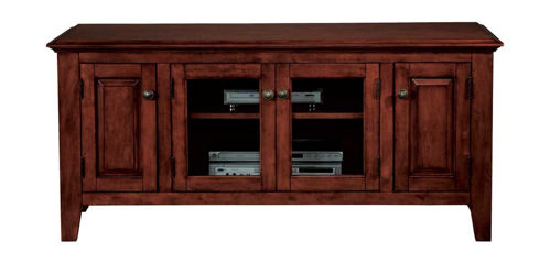 "Picture of PEMBROKE CHERRY 55"" TV CONSOLE"