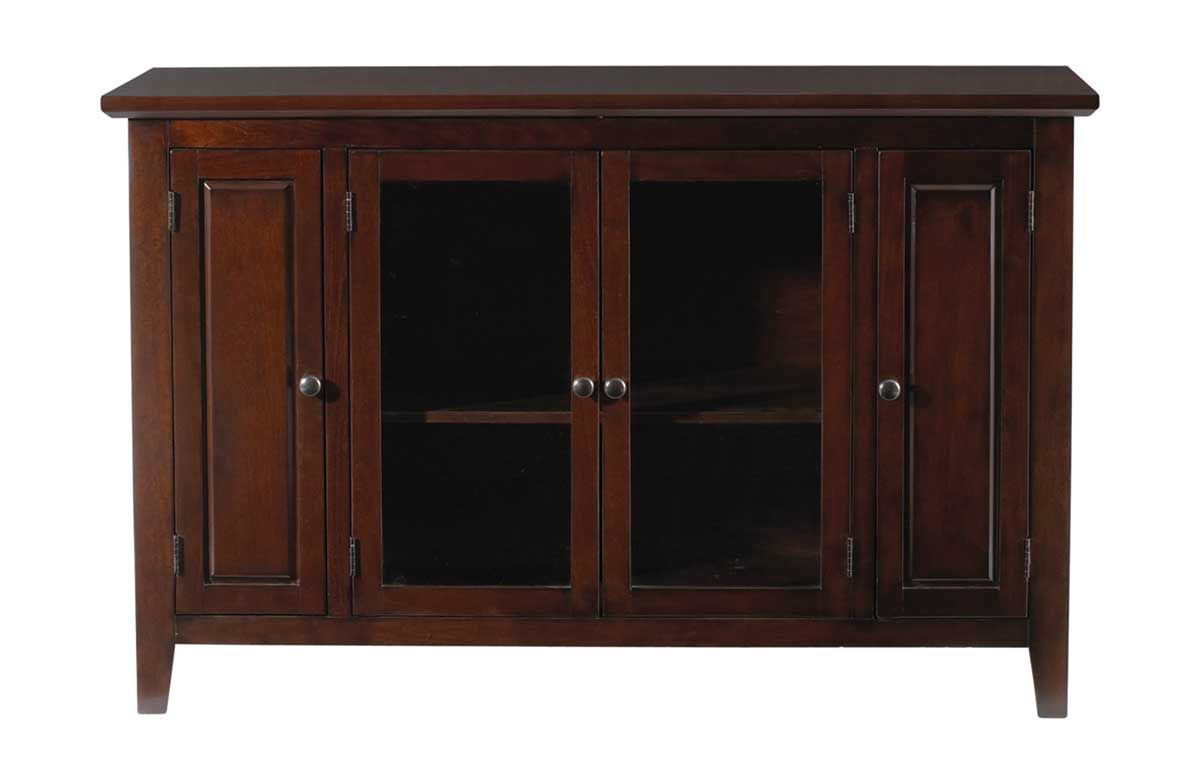 """Picture of PEMBROKE CHERRY 52"""" HIGHBOY TV CONSOLE"""