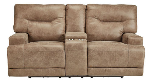 Picture of PALMER POWER RECLINING CONSOLE LOVESEAT