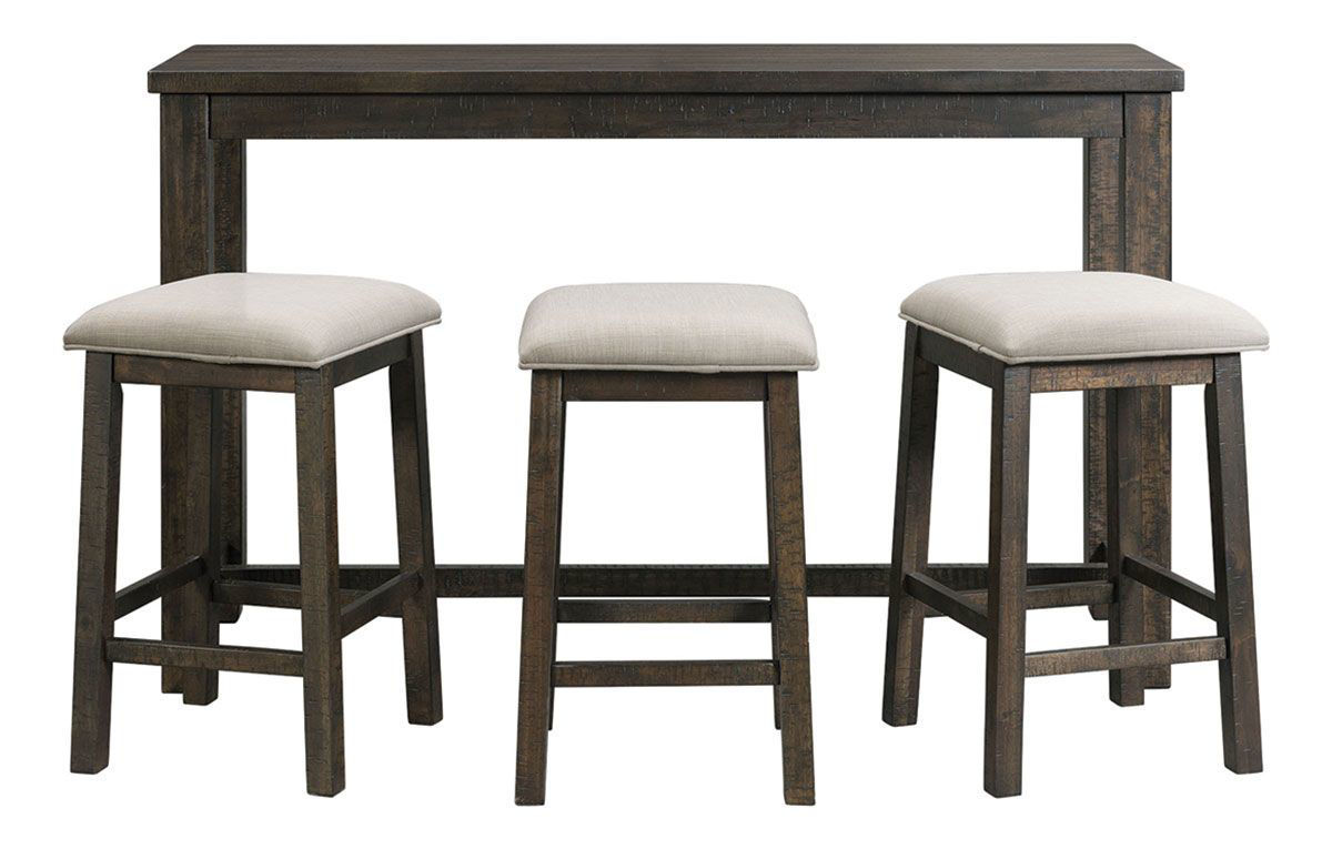 Fabulous Arabella Bar 3 Stools Gmtry Best Dining Table And Chair Ideas Images Gmtryco