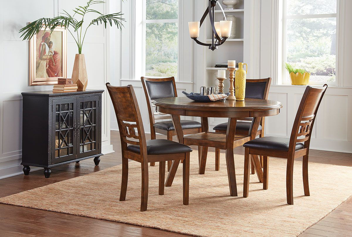 Aubry 5 Piece Dining Set Badcock Amp More