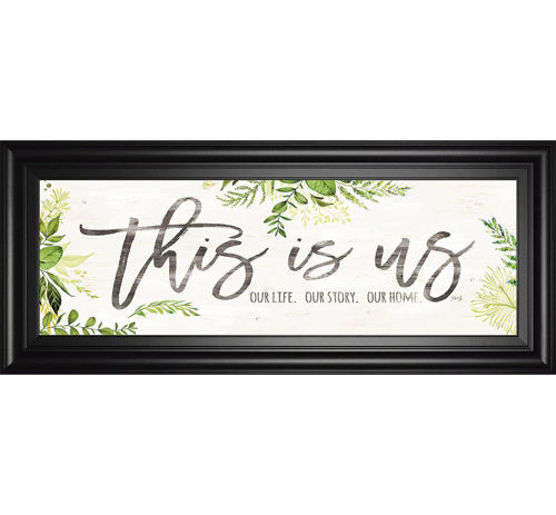 Picture of THIS IS US WALL ART