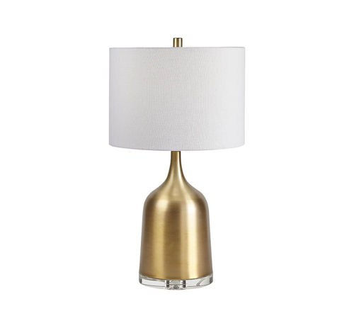 Picture of TRANSITIONAL CRYSTAL/METAL LAMP
