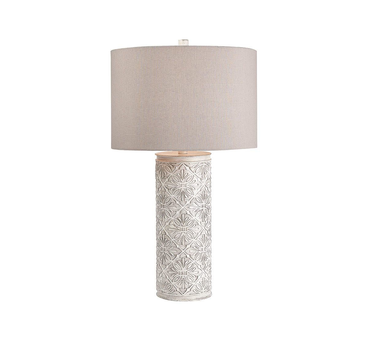 Picture of TRANSITIONAL BRUSHED GREY WASHED LAMP