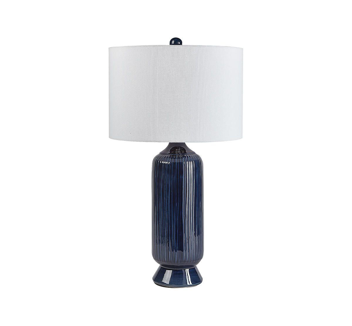 Picture of CASUAL CONTEMPORARY DEEP BLUE LAMP