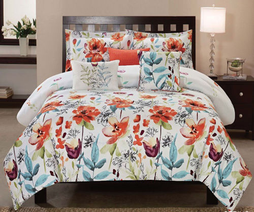 Picture of SPRING 6 PIECE KING LINEN SET