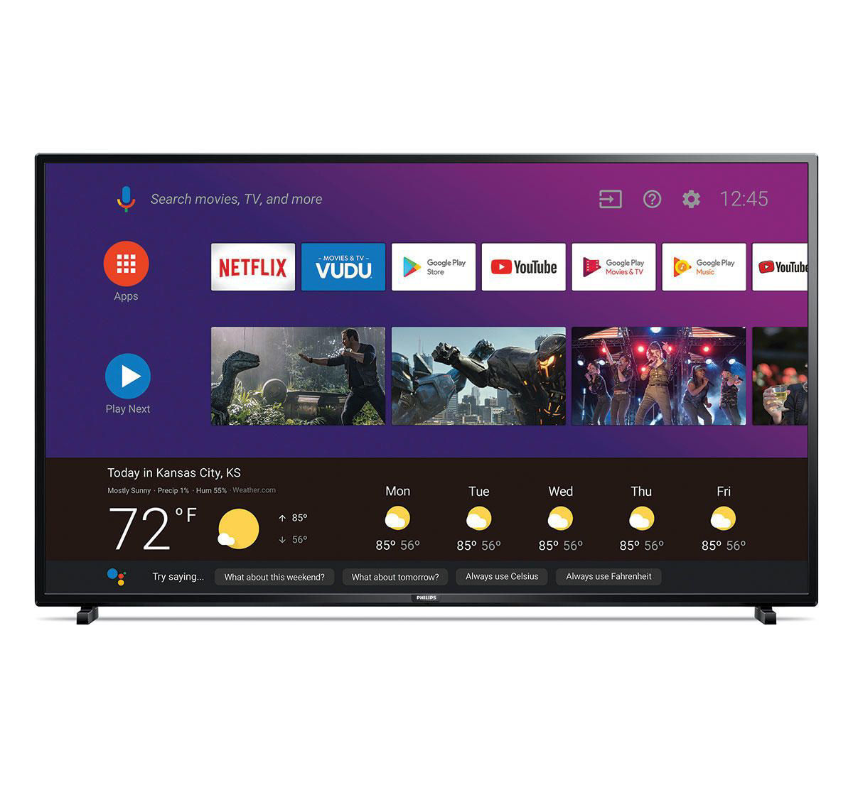 "Picture of PHILIPS 55"" SMART 4K ULTRA HD LED TV"