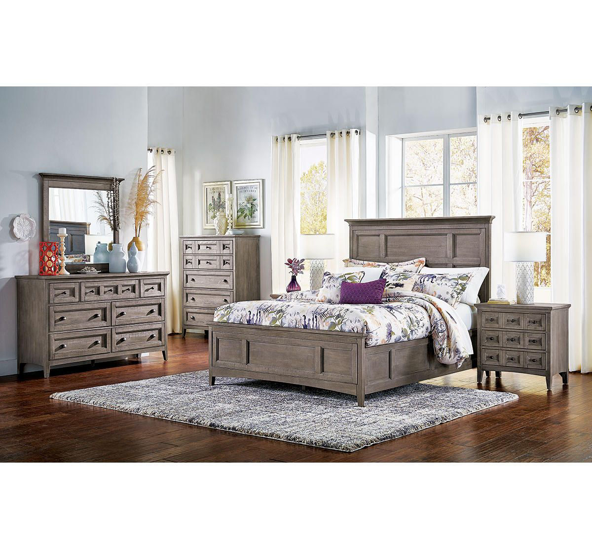 Keaton 5 Pc Bedroom Group Badcock Home Furniture More,Picture Frame On Wall Free