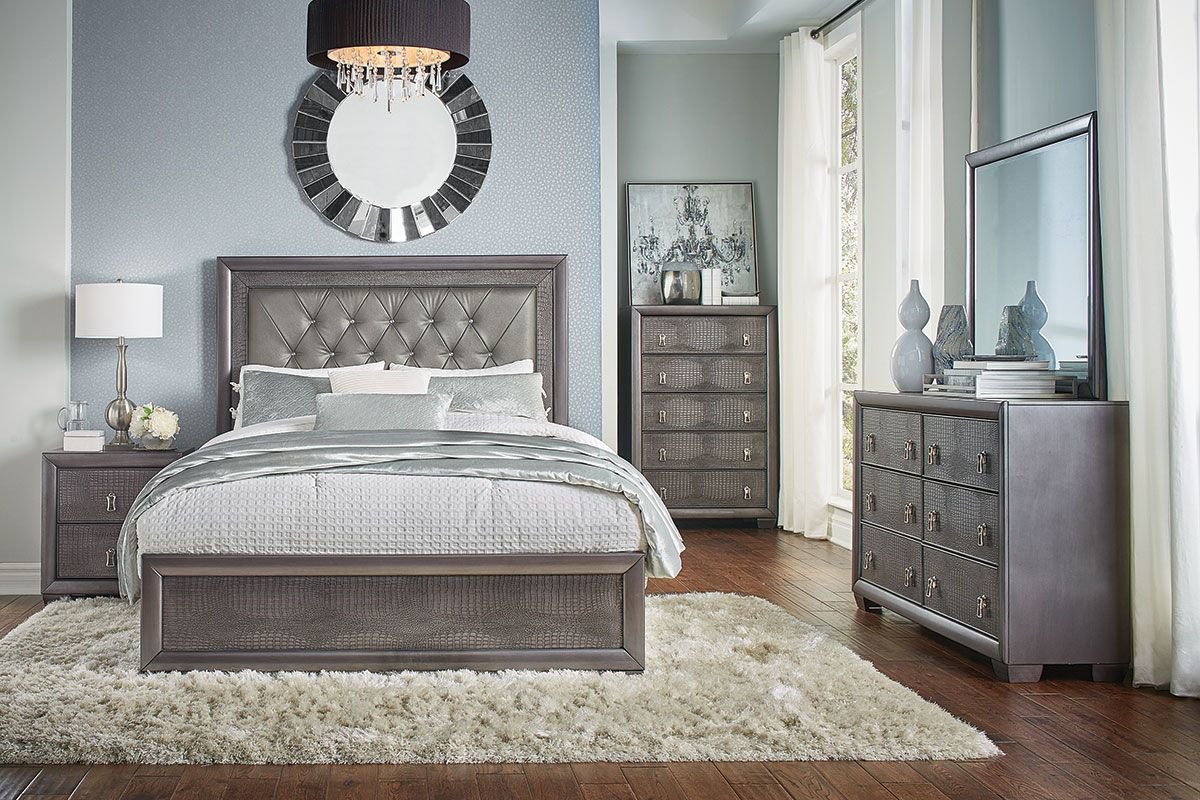 Reno 5 Pc Queen Bedroom Group Badcock Home Furniture More,Picture Frame On Wall Free