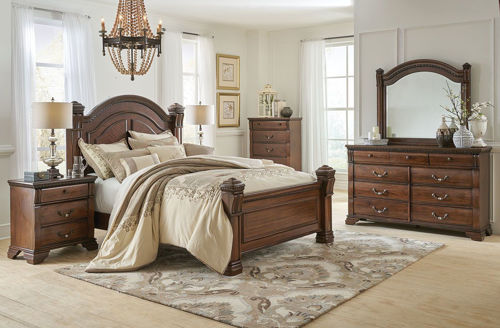 Picture of BELMONT 5 PIECE KING BEDROOM SET