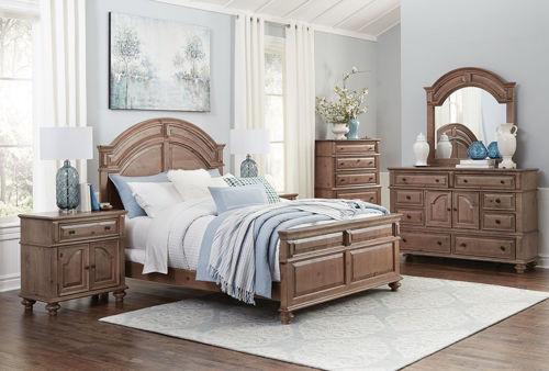 Picture of PINEHURST 5 PIECE QUEEN BEDROOM SET