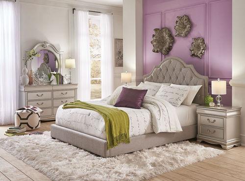 Picture of BELLE 5 PIECE FULL BEDROOM SET