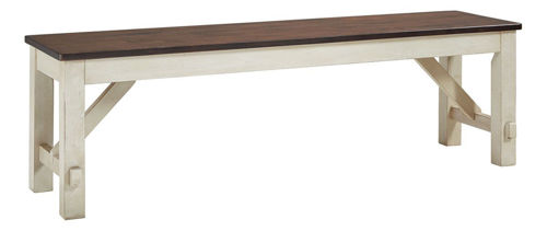 Picture of LAUREL MANOR II DINING BENCH