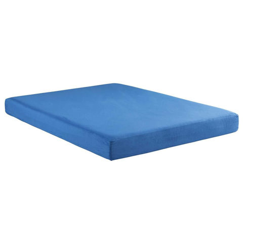 Picture of BLUE MEMORY FOAM TWIN MATTRESS/BUNKIE BOARD