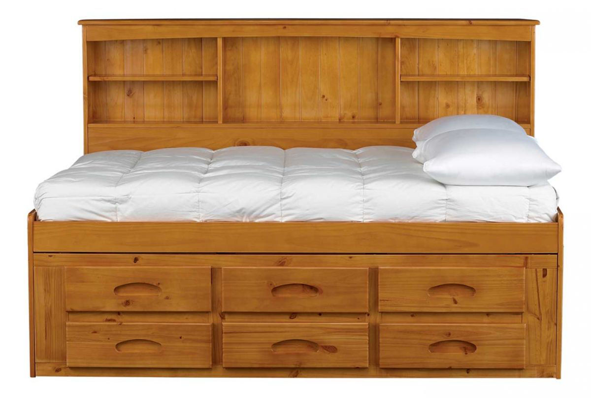 Picture of Kendall Full Bookcase Storage Bed