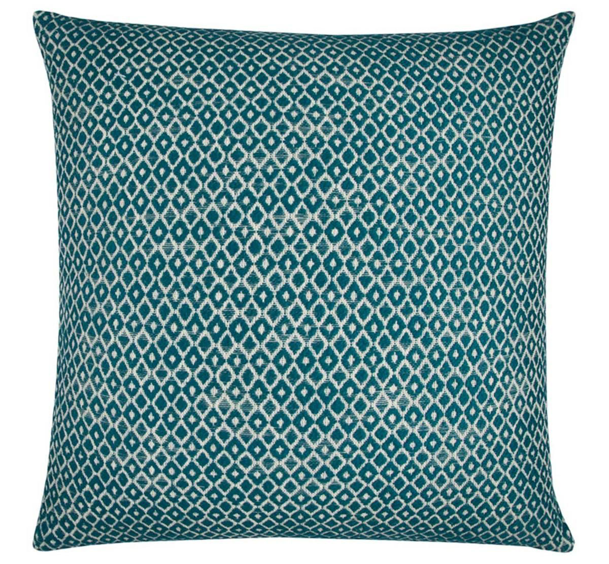 Picture of GEOMETRIC BLUE THROW PILLOW