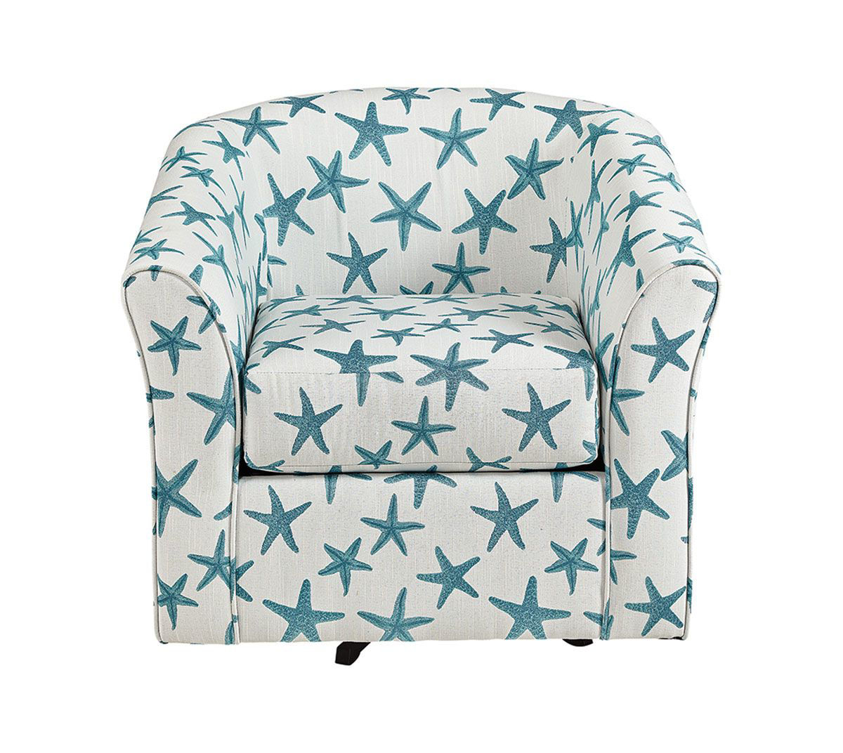 Picture of PALM COAST TEAL SWIVEL TUB CHAIR
