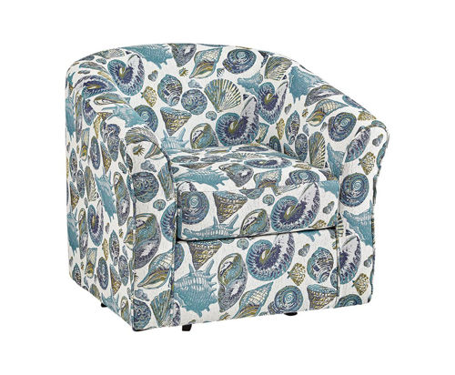 Picture of PALM COAST SHELLS SWIVEL TUB CHAIR
