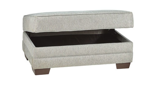 Picture of SANIBEL STORAGE OTTOMAN