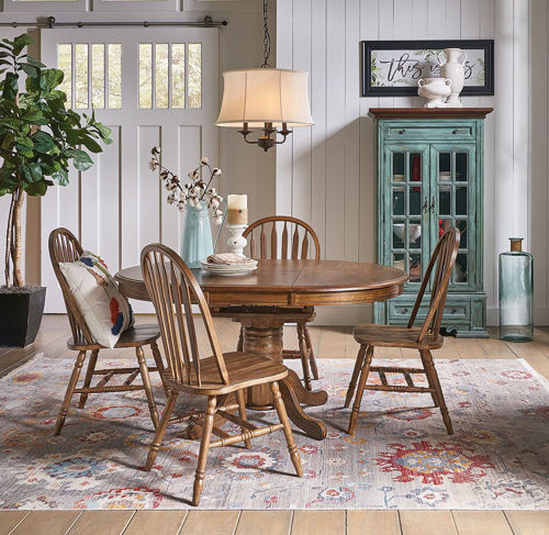 Picture of WOODBURY 5 PIECE DINING SET