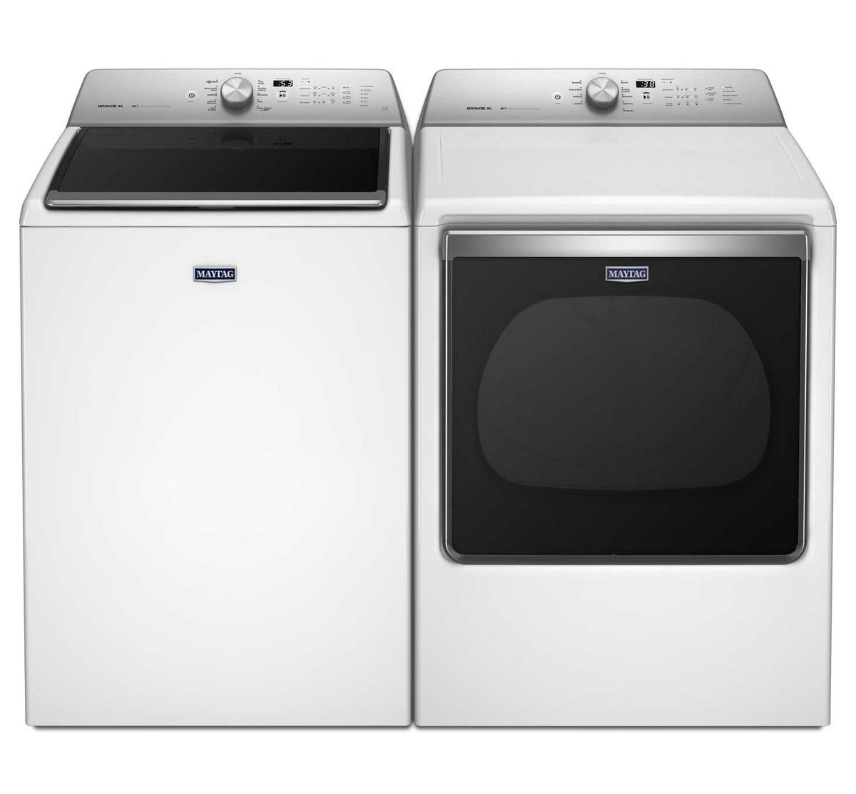 Maytag Super Capacity Top Load Washer & Dryer Pair | Badcock Home ...