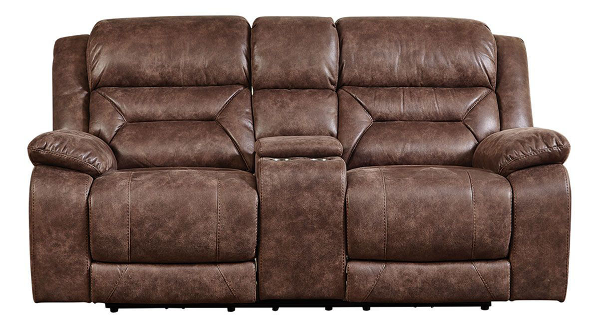 Picture of COLOSSUS RECLINING CONSOLE LOVESEAT