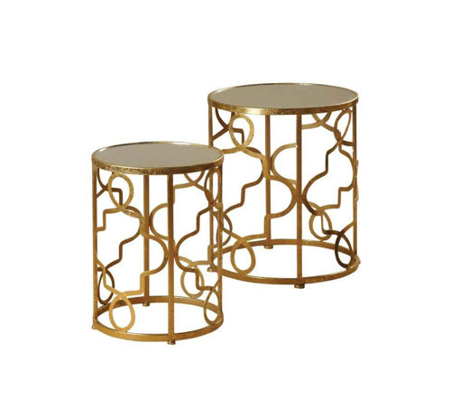 Picture of GOLD NESTING TABLES