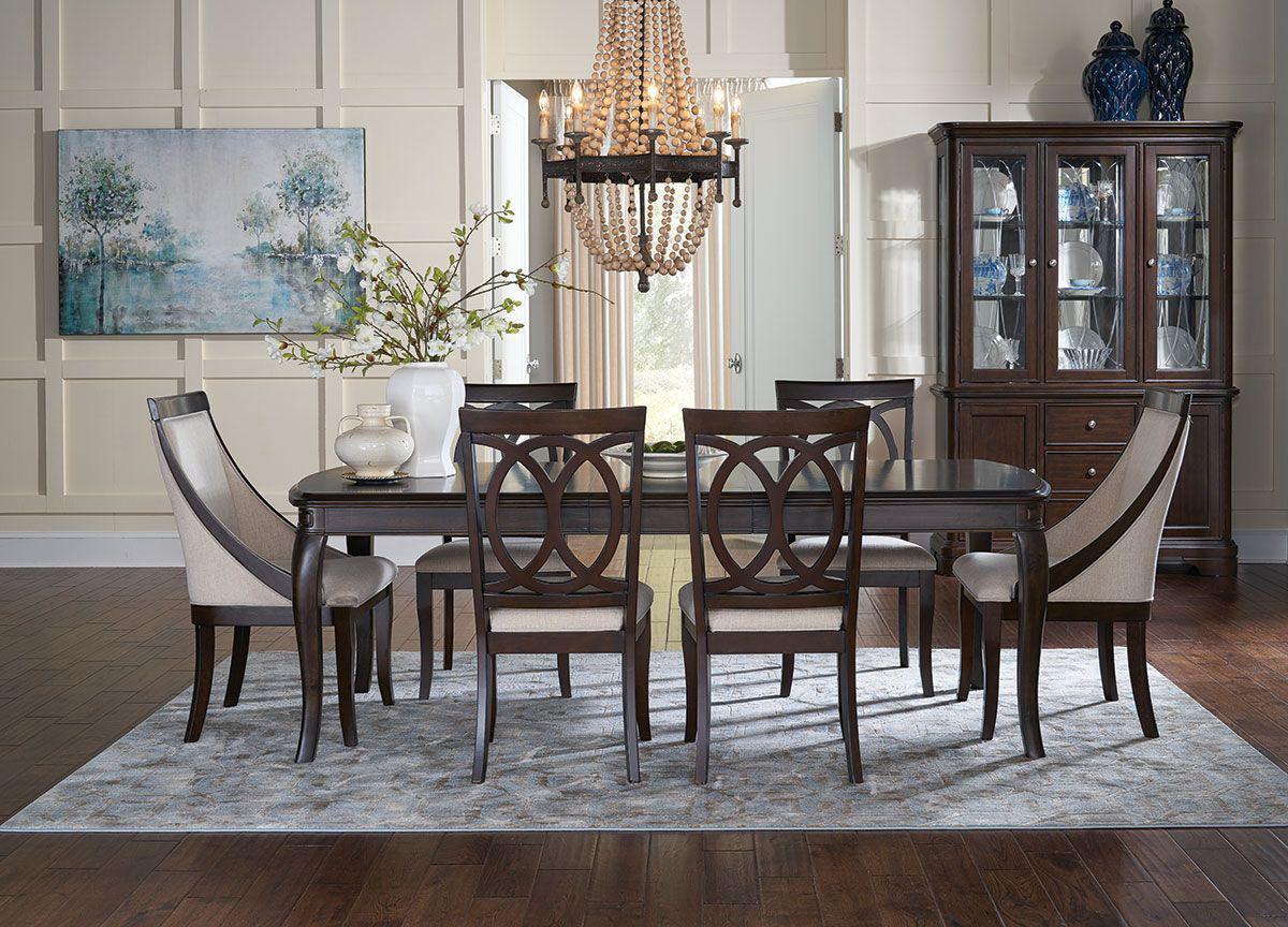 Picture of ANNYSTON 5 PIECE DINING SET