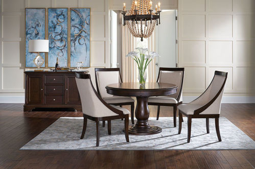Picture of ANNYSTON ROUND 5 PIECE DINING SET