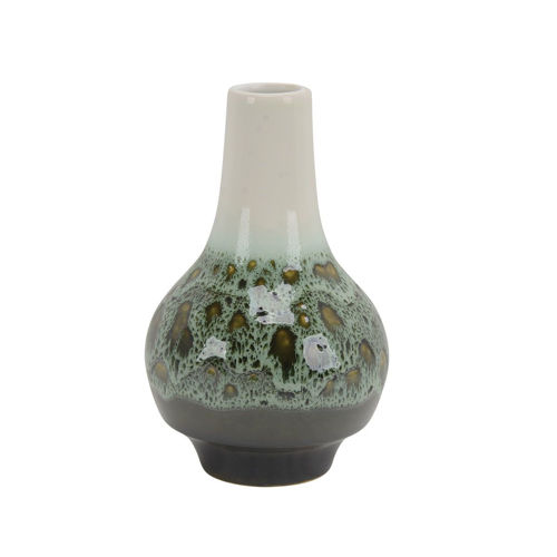 Picture of SMALL GREEN VASE