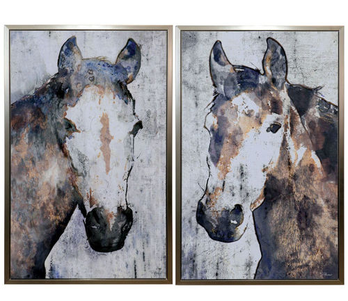 Picture of HORSE WALL HANGING SET