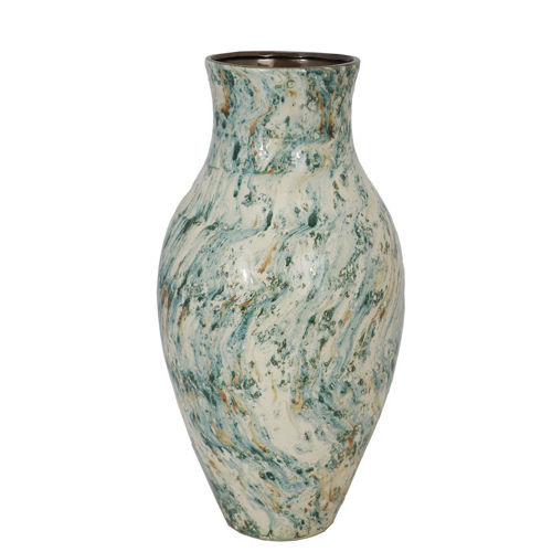 Picture of LARGE MULTI COLOR VASE