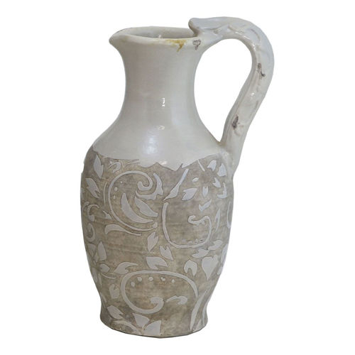 Picture of SMALL BEIGE/GREY BROWN VASE