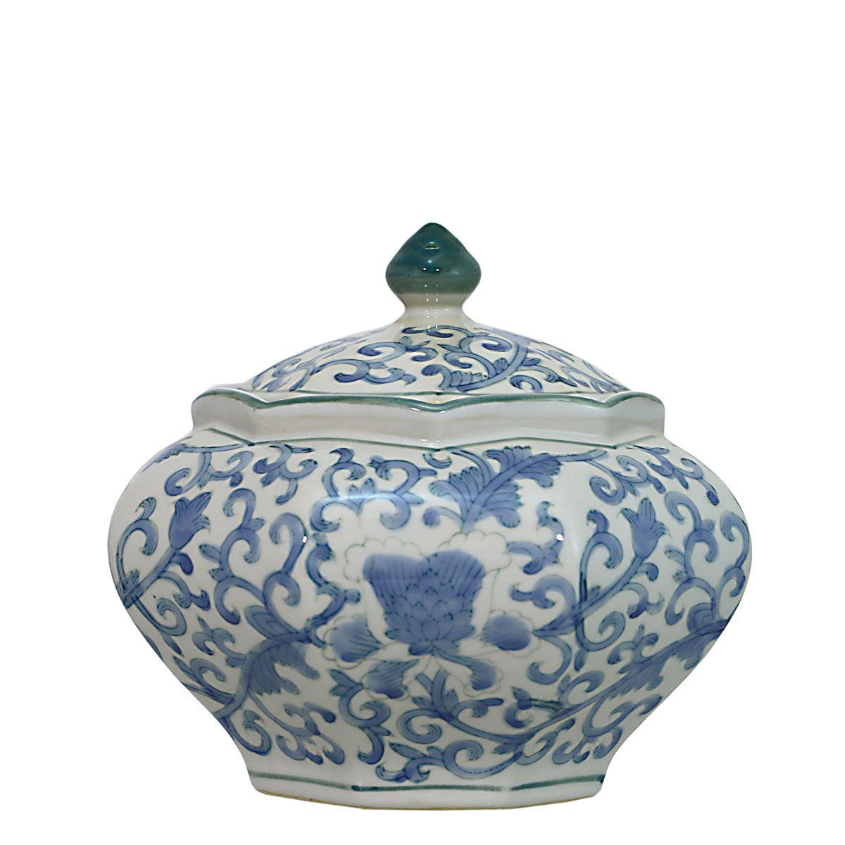 Picture of BLUE/WHITE VASE