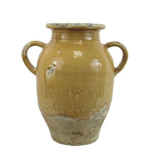Picture of LARGE MUSTARD YELLOW VASE