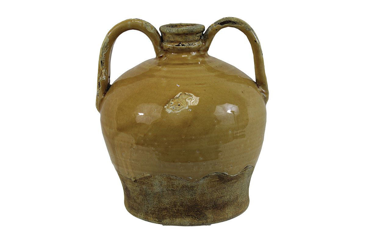 Picture of SMALL MUSTARD YELLOW VASE