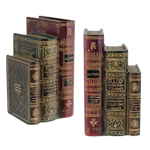 Picture of STACKED BOOKS BOOKENDS