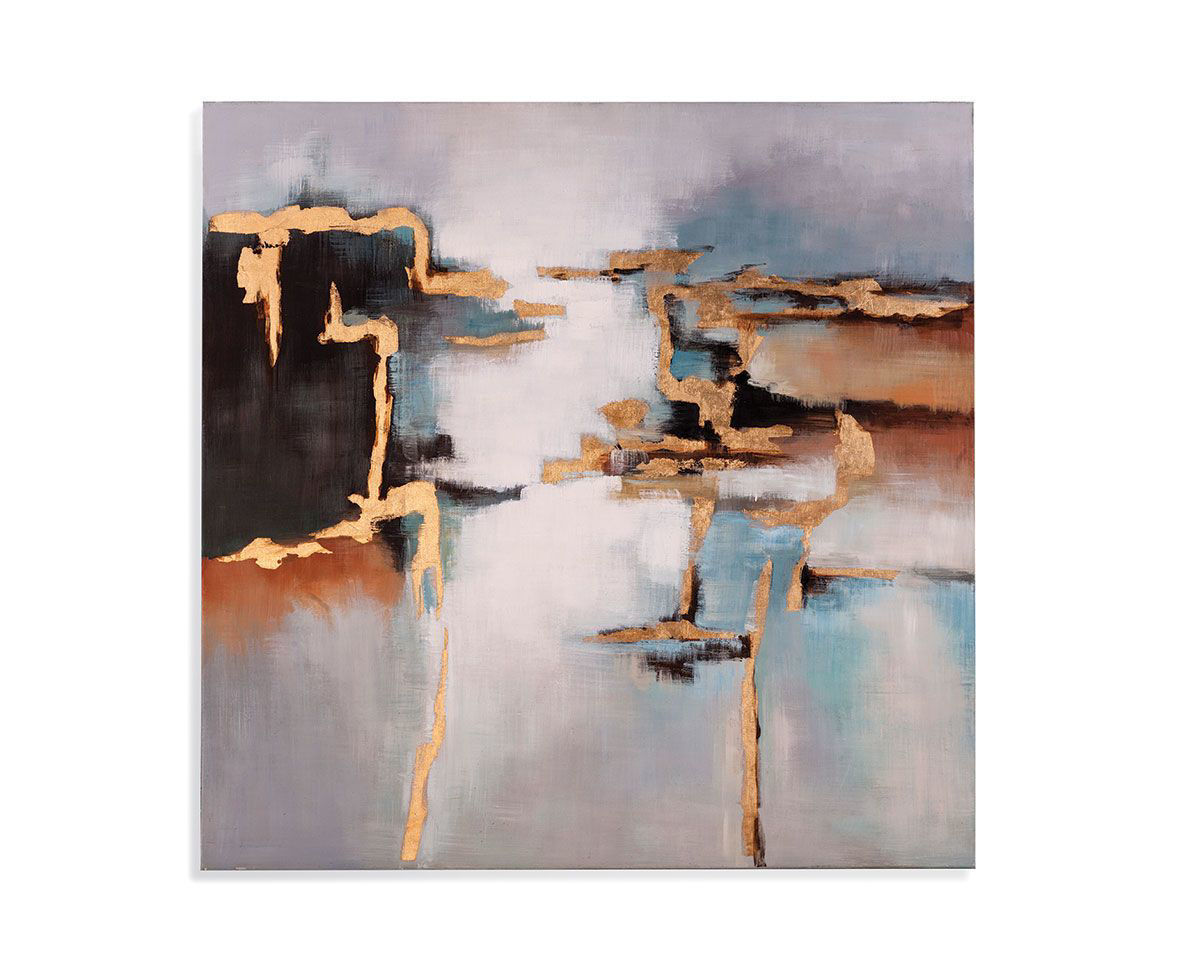 Picture of ABSTRACT SQUARE WALL ART