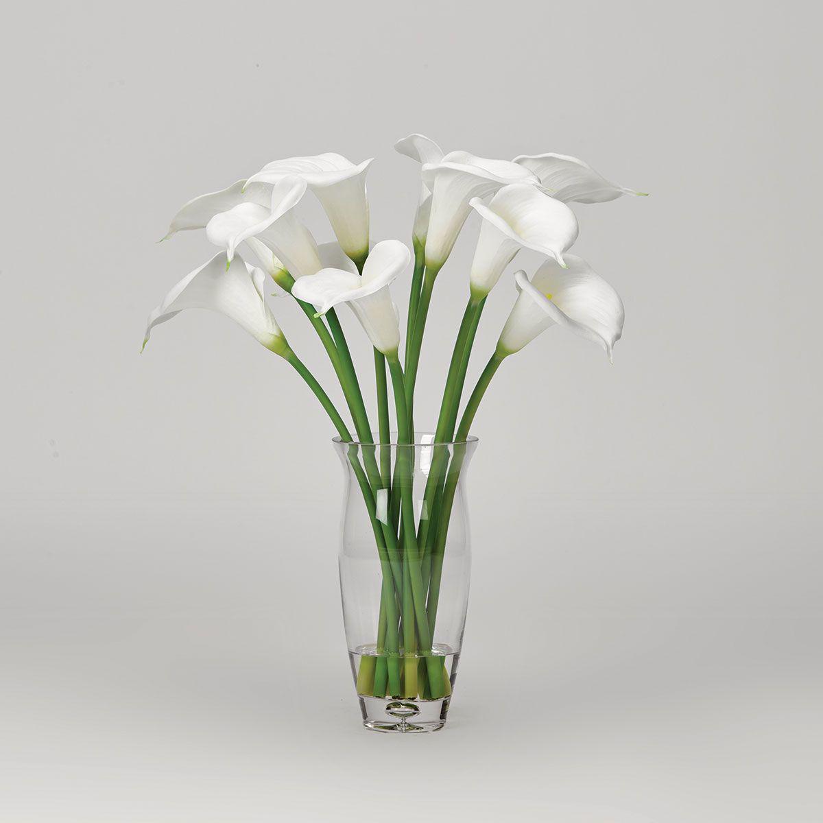 White Calla Lilies Badcock Home Furniture More