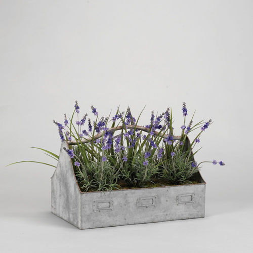 Picture of PLANTER WITH LAVENDER