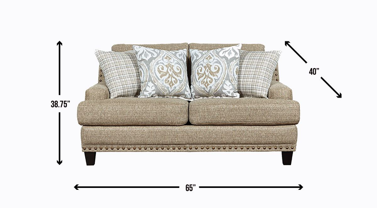 Picture of MARKHAM LOVESEAT