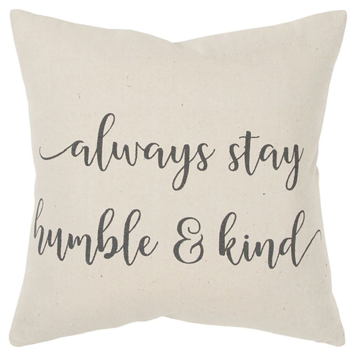 Picture of HUMBLE & KIND THROW PILLOW