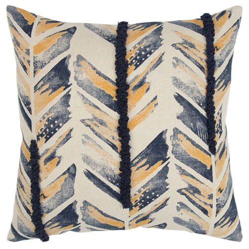 Picture of MULTI CHEVRON THROW PILLOW